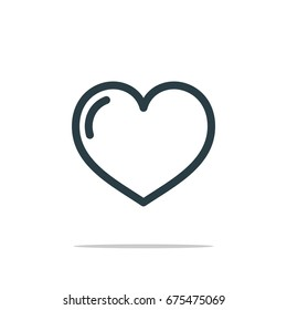 Love Icon Logo Template
