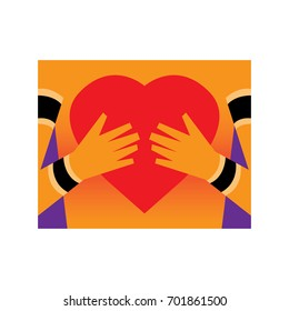 love logo, illustration