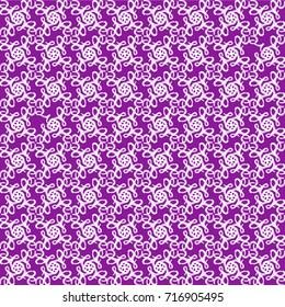 Love lost white on purple