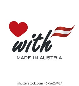 Love With Made in Austria logo icon