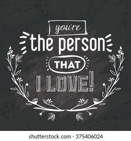 love message design