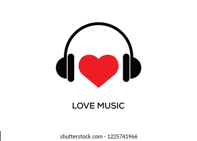 LOVE MUSIC LOGO DESIGN