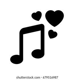 love musical-note icon