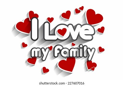 i love my family images  stock photos   vectors shutterstock medical symbol clipart images Medical Symbol Outline