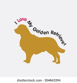 I love My Golden Retriever image