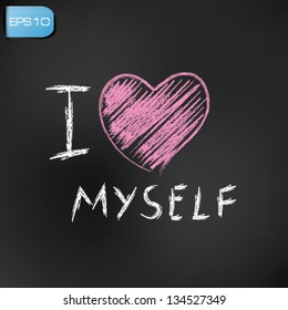 Royalty Free I Love Myself Images Stock Photos Vectors Shutterstock