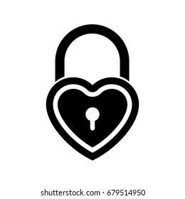 love padlock icon