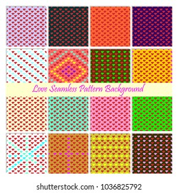 Love pattern valentine days, seamless pattern background, heart pattern, valentine seamless pattern background, love seamless