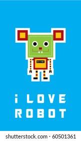 i love rat robot