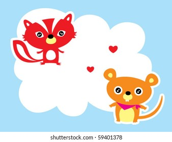 love rat and weasel