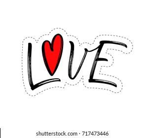 Love Stickers Images Stock Photos Vectors Shutterstock