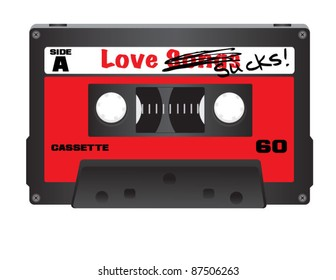 Love Sucks Cassette Tape