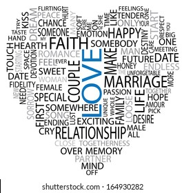 Love tags vector artwork