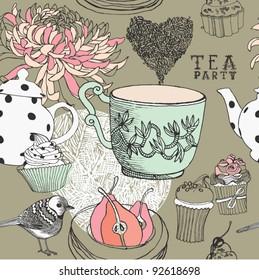 love tea background