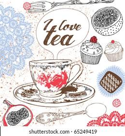 love tea card