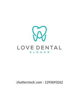 love teeth logo design