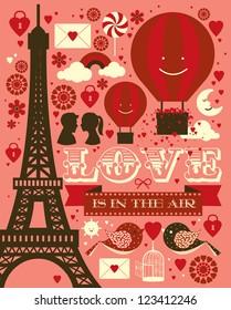 love template vector/illustration