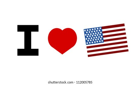 I love the united states of america