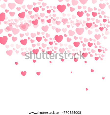 Love Valentines Day Card Background Love Stock Vector Royalty Free