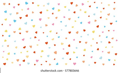 love wallpaper. hearts vector background