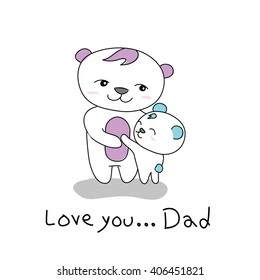 I love you, Dad.