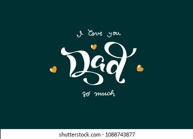 8625 I Love You I Love You Dad Images Royalty Free Stock Photos