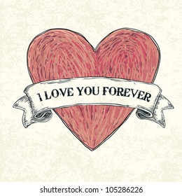 Royalty Free I Love You Forever Images Stock Photos Vectors