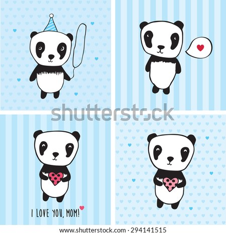 I Love You Mom Greeting Cards For Mothers Day Valentines Birthday