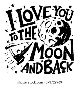 i love you to the moon and back images stock photos vectors
