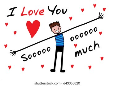 500 I Love You So Much Pictures Royalty Free Images Stock Photos