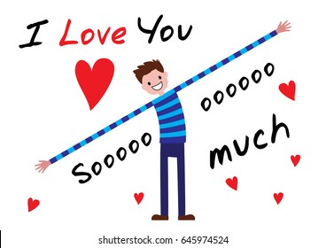 I Love You so Much Images, Stock Photos & Vectors | Shutterstock