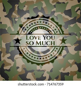 I Love You so Much Images, Stock Photos & Vectors   Shutterstock