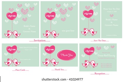 Love you set cards
