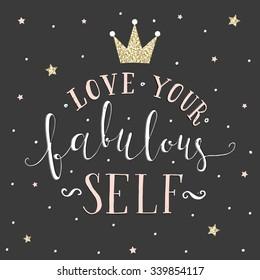 Love your fabulous self.