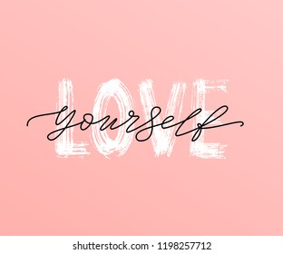 love yourself images stock photos vectors shutterstock