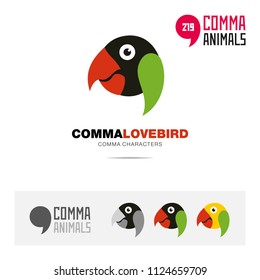 Logo Lovebird Images, Stock Photos & Vectors | Shutterstock