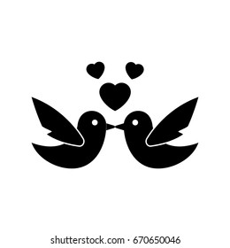 Love Bird Icon Images, Stock Photos & Vectors | Shutterstock