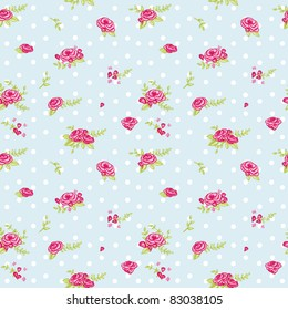 lovely floral seamless pattern