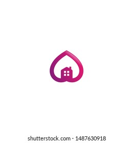 Lovely House Logo Inspirations Template