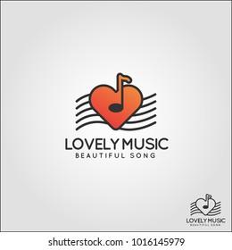 Lovely Music Logo - Eazy listening relaxation music