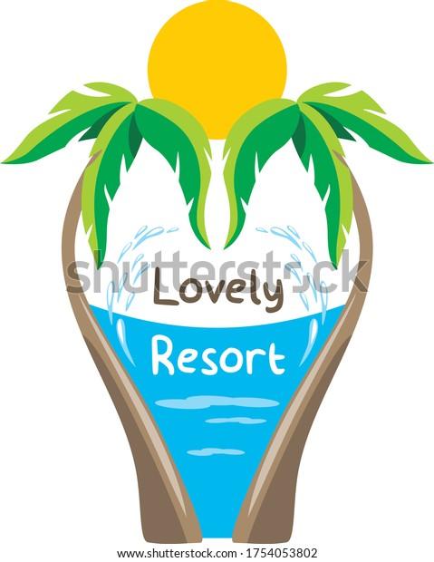 lovely-resort-design-travel-logo-600w-17