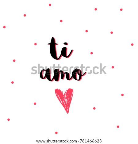 Lovely Valentines Day Gift Card Heart Stock Vektorgrafik Lizenzfrei