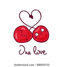Lovers cherries
