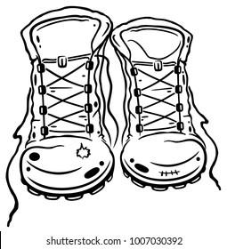 For lovers of hiking. Hiking boots.