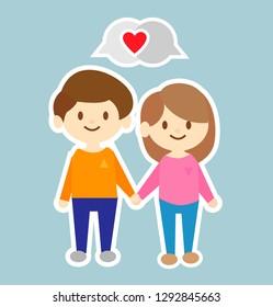 Cute Couple Cartoon Images Stock Photos Vectors Shutterstock
