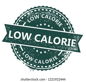 Low Calorie Stamp