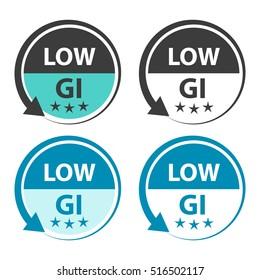 Low GI food labels.
