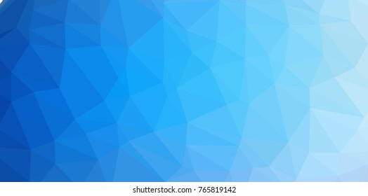 Low Poly abstract background with colorful triangular polygons with a brilliant colors range.