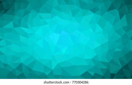 low poly background teal color
