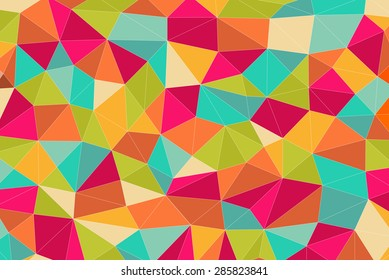 low poly Mosaic Background, Vector illustration, Creative Design Templates